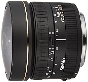 中古 SIGMA 単焦点魚眼レンズ 8mm F3.5 送料無料新品 EX DG 円周魚眼 キヤノン用 485276 CIRCULAR FISHEYE 爆買い新作 フルサイズ対応