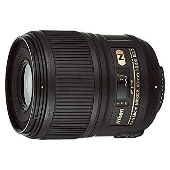 中古 Nikon 単焦点マイクロレンズ AF-S Micro 60mm 2.8G 日本メーカー新品 期間限定で特別価格 f フルサイズ対応 ED