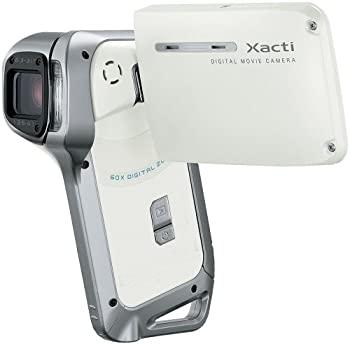 中古 SANYO 防水デジタルムービーカメラ 卓出 Xacti ホワイト ザクティ W 国内正規品 DMX-CA8