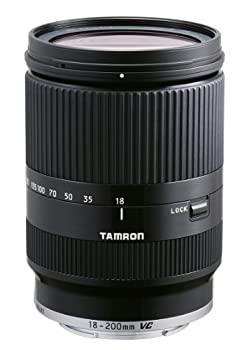 中古 TAMRON 高倍率ズームレンズ 18-200mm F3.5-6.3 DiIII VC M用 新作送料無料 通信販売 キヤノンEOS EOS B011EM-BLACK ブラック M専用 ミラーレスカメラ