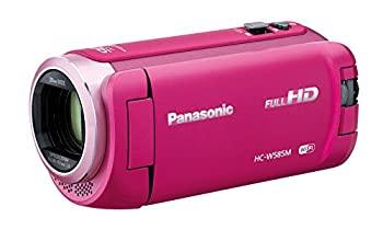 中古 パナソニック HDビデオカメラ W585M 64GB 高倍率90倍ズーム ワイプ撮り 毎日激安特売で 営業中です ピンク HC-W585M-P