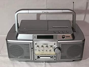 【中古】Victor ビクター JVC RC-Z1MD-S シルバー CD-MDポータブルシステム Clavia クラビア (CD/MDデッキ)(ラジカセ形状)