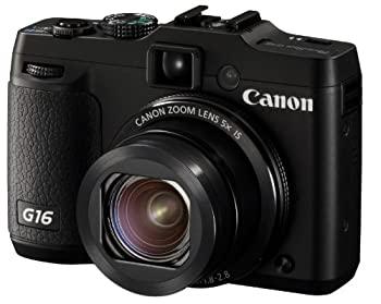最新アイテム 中古 オリジナル Canon デジタルカメラ PowerShot PSG16 広角28mm 光学5倍ズーム G16
