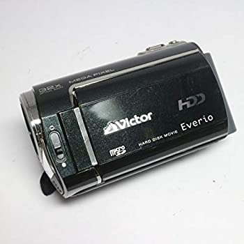 中古 JVCケンウッド ビクター ハードディスクビデオカメラ Everio エブリオ GZ-MG330-B ランキング総合1位 クリアブラック 激安☆超特価