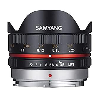 超歓迎された 期間限定お試し価格 中古 SAMYANG 単焦点魚眼レンズ 7.5mm フィッシュアイ ブラック F3.5 マイクロフォーサーズ用