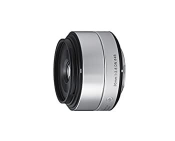 中古 無料 SIGMA 単焦点レンズ Art 30mm F2.8 ファッション通販 マイクロフォーサーズ用 ミラーレスカメラ専用 シルバー DN 929718
