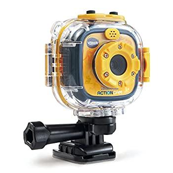【中古】VTech Kidizoom Action Cam, Yellow/Black 80-170700 [並行輸入品]