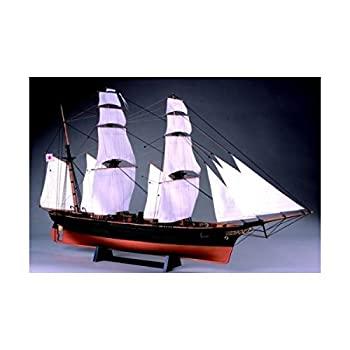 選択 中古 ウッディジョー 1 75 木製帆船模型 帆付 定番スタイル 組立キット 咸臨丸