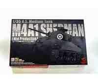 当店の記念日 アスカモデル 1/35 アメリカ軍 中戦車 M4A1シャーマン (中期型) プラモデル 35-010, はちみつの恵 7dd42bc7