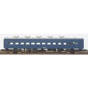 中古 グリーンマックス Nゲージ 着色済み スロ81 スロフ81形 客車 帯無し 青色 高品質 高品質 11036 鉄道模型