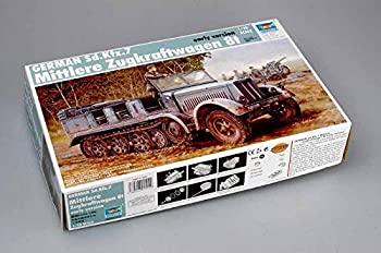 中古 トランペッター 1 人気上昇中 35 ドイツ軍 本店 8tハーフトラック初期型 Sd.kfz.7 プラモデル