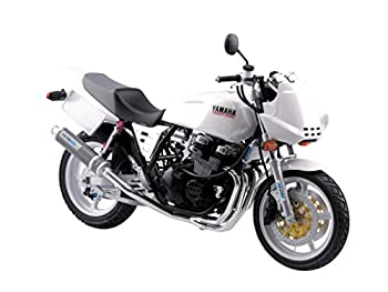 与え 中古 青島文化教材社 1 12 バイクシリーズ 超特価 プラモデル No.35 ヤマハ XJR400S カスタムパーツ付き