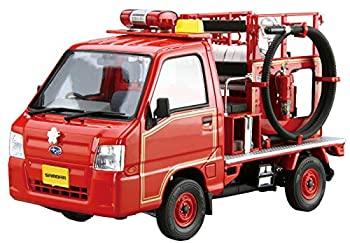 中古 希少 青島文化教材社 1 24 ザ 訳あり モデルカーシリーズ No.119 2011 プラモデル サンバー 消防車 TT2 スバル