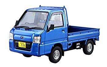 【中古】青島文化教材社 1/24 ザ・モデルカーシリーズ No.4 スバル TT2 サンバートラック WRブルーリミテッド 2011 プラモデル