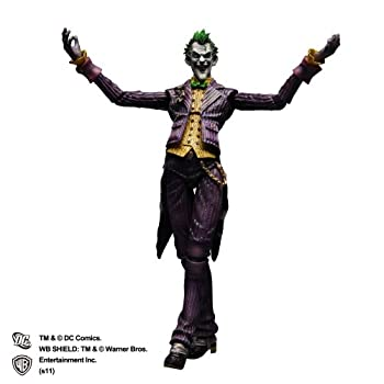 中古 BATMAN 好評 TM ARKHAM ASYLUM 超特価SALE開催 ジョーカー PVC塗装済みアクションフィギュア ARTS改 PLAY