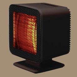 中古 ギフ_包装 ±0 Reflect 超激得SALE Heater リフレクトヒーター XHS-Z310 プラスマイナスゼロ ブラウン
