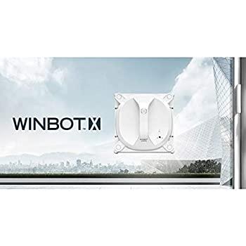 中古 ECOVACS 窓用ロボット掃除機 安い WINBOT 充電式 好評受付中 ホワイト X コードレス