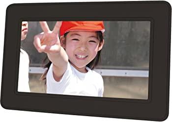 中古 SANYO デジタルフォトフレーム K ブラック LVF-PF71 ※ラッピング ※ 超激安