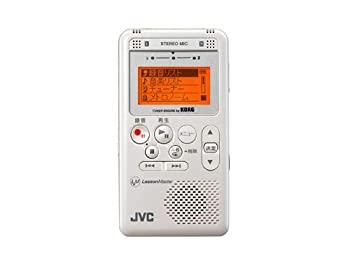 中古 毎週更新 VICTOR XA-LM10-W ポータブルデジタルレコーダー 賜物 ホワイト レッスンマスター