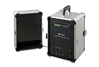 中古 TOA 移動用PAアンプ 日本最大級の品揃え 20W 正規認証品!新規格 KZ-25A スピーカー付
