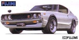 中古 フジミ模型 割り引き 1 24 ノスタルジックレーサーシリーズ 高級な KPGC110 ケンメリGT-R NR9