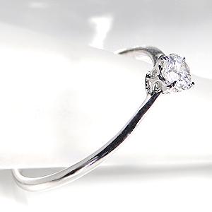 ファッション・ジュエリー・アクセサリー・レディース・指輪・ダイヤ リング・プラチナ・ダイヤモンド リング・一粒・SI・重ねづけ・ギフト・プレゼント・4月・誕生石・送料無料・品質保証書付