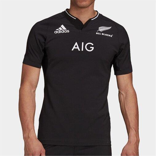 ラグビー オールブラックス ニュージーランド代表 選手仕様 ホーム ジャージ 公式 メンズ レディース ユニセックス