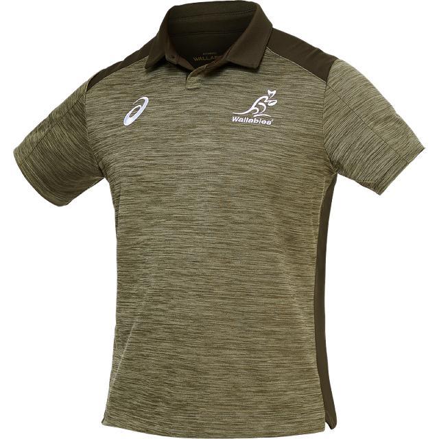 店内全品 各メーカー 正規品 レプリカ ジャージ ウェア グッズ ラグビー オーストラリア代表 ワラビーズ メディアポロシャツ 公式 メンズ ユニセックス 2111A818