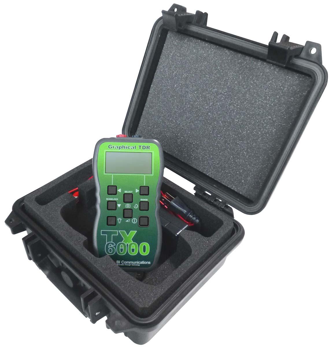 TX6000RC TDRケーブル診断・測長機 充電式