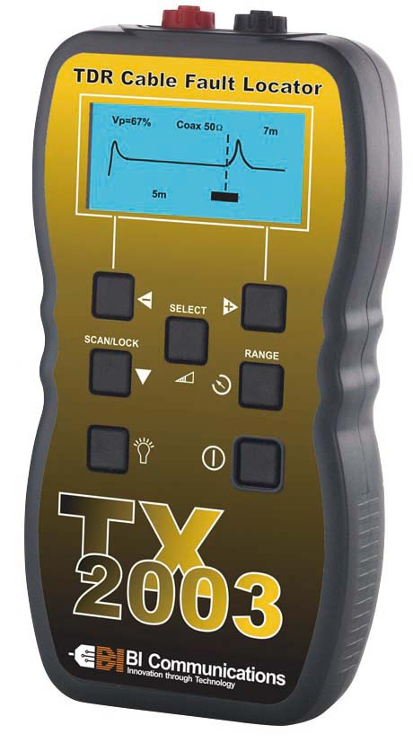 TX2003 TDRケーブル診断・測長機