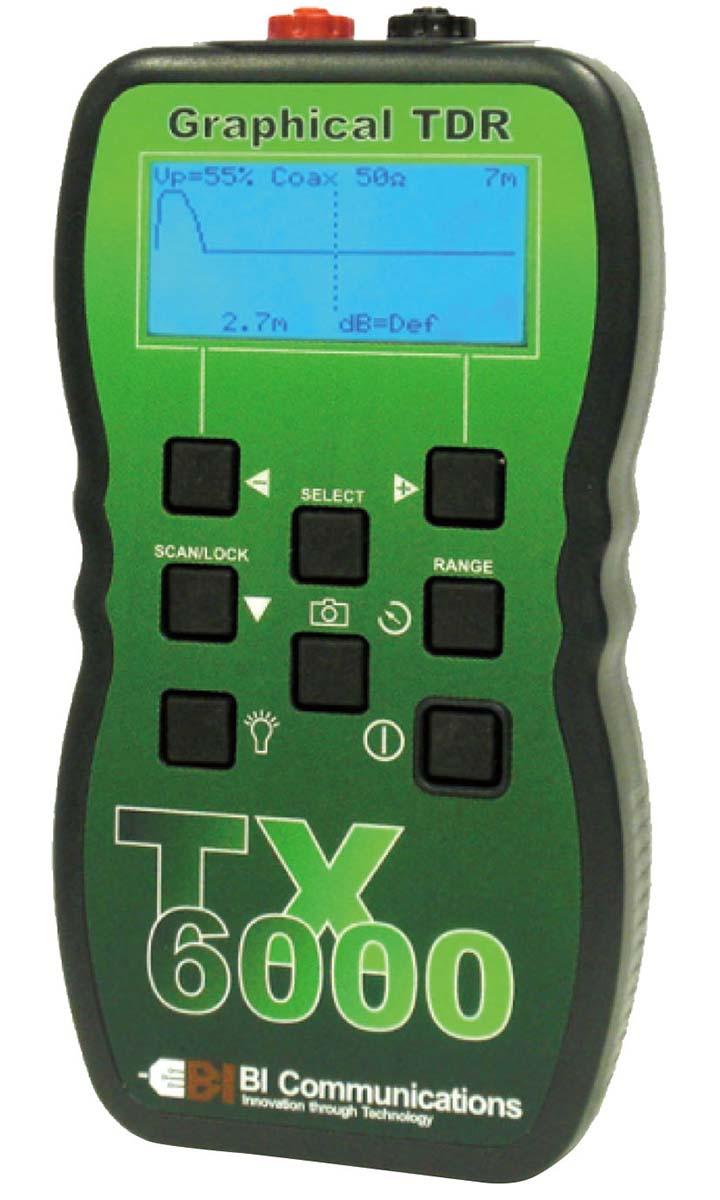 TX6000 TDRケーブル診断・測長機