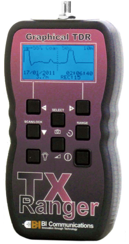 【アウトレット】TXRanger 波形付きTDR測長機