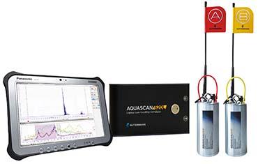 アクアスキャン620L タブレット付き 長距離相関式漏水探索機