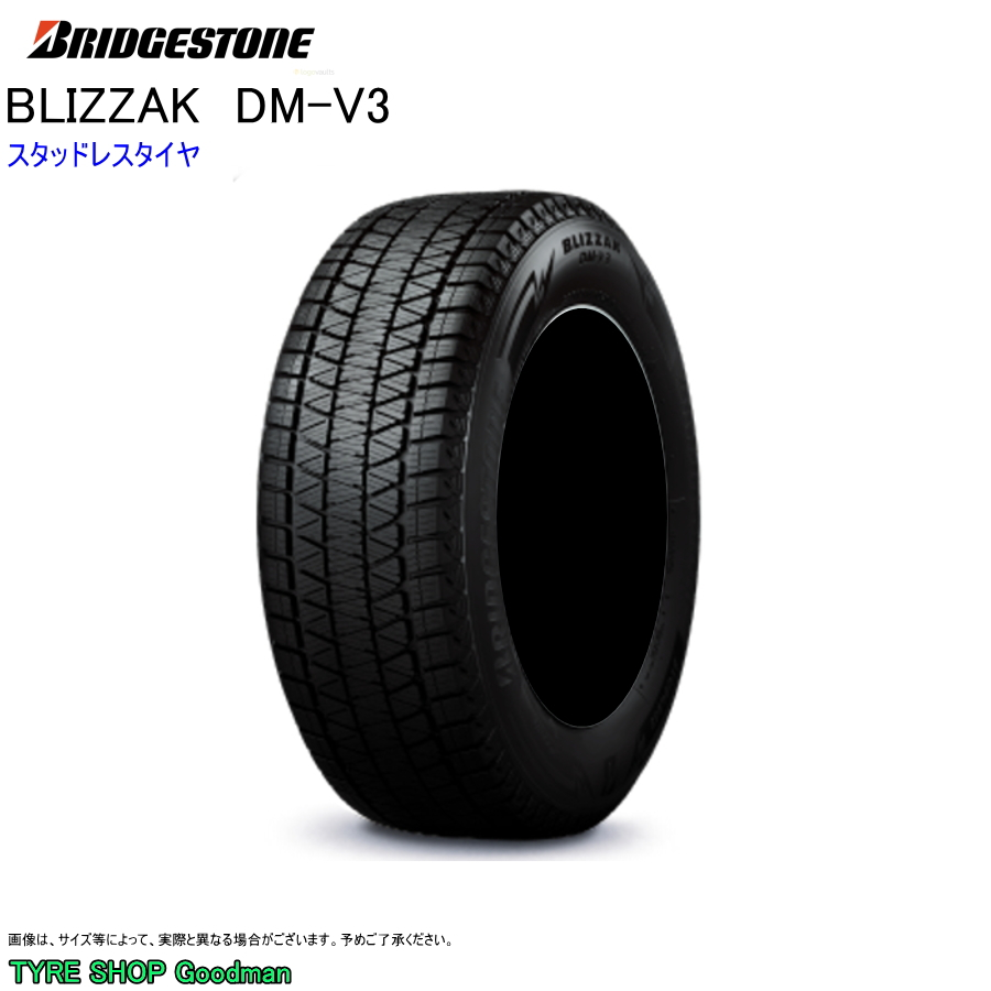 スタッドレス 245/50R20 102Q ブリヂストン DM-V3 ブリザック スタッドレスタイヤ (2019年新商品)(20インチ)(245-50-20)