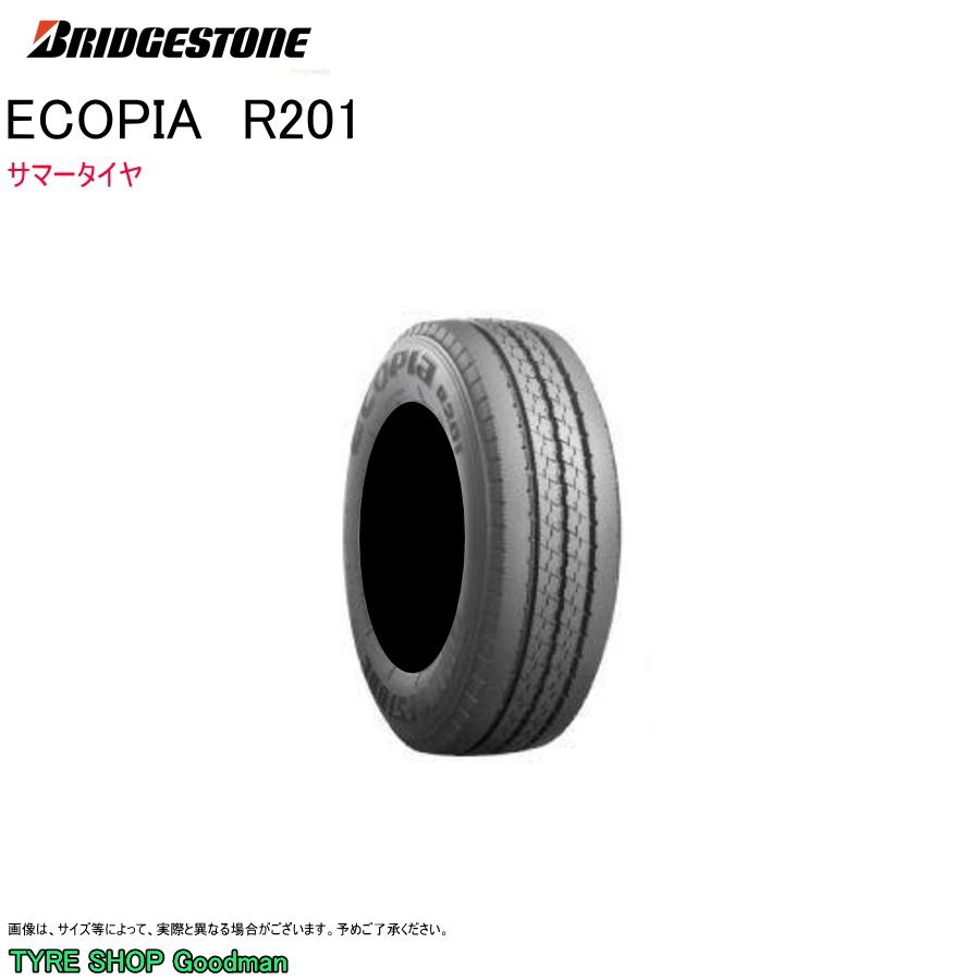 ブリヂストン 185/65R15 101/99L R201 エコピア サマータイヤ (小型トラック)(15インチ)(185-65-15-101)