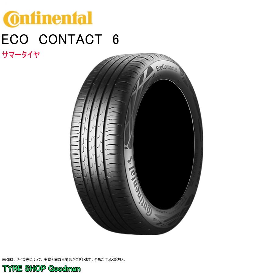 コンチネンタル 185/50R16 81H EC6 エココンタクト6 サマータイヤ (乗用車用)(16インチ)(185-50-16)