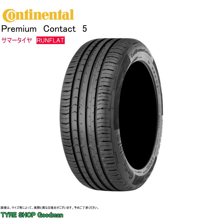 Continental Premium Contact 5 SSR 205//60 R16 92V Sommerreifen