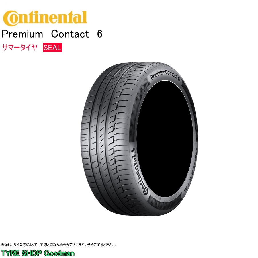 コンチネンタル コンチシール 235/60R18 103V PC6 プレミアムコンタクト6 サマータイヤ (オンロード)(4WD SUV)(18インチ)(235-60-18)