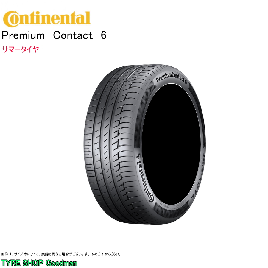 コンチネンタル 235/60R18 107V XL PC6 プレミアムコンタクト6 サマータイヤ (オンロード)(4WD SUV)(18インチ)(235-60-18)