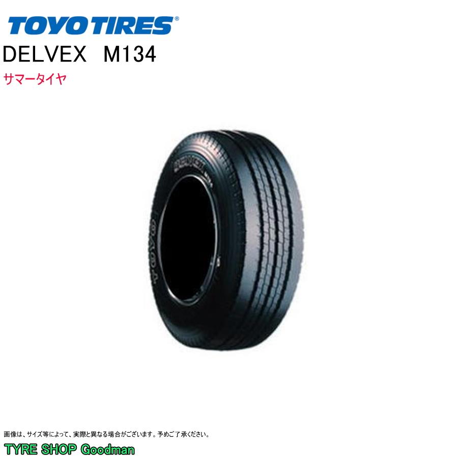 トーヨー 205/65R15 107/105N M134 デルベックス サマータイヤ (小型トラック)(15インチ)(205-65-15-107)
