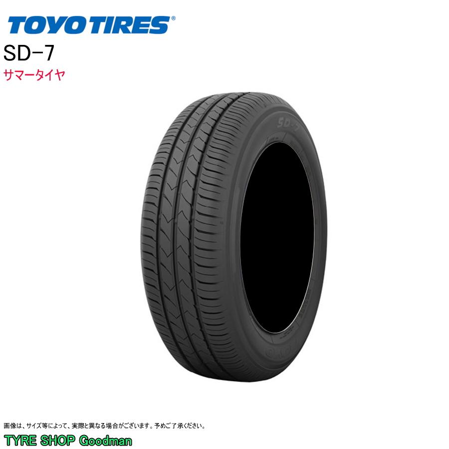 トーヨー 175/60R16 82H SD-7 サマータイヤ (低燃費)(乗用車用)(16インチ)(175-60-16)