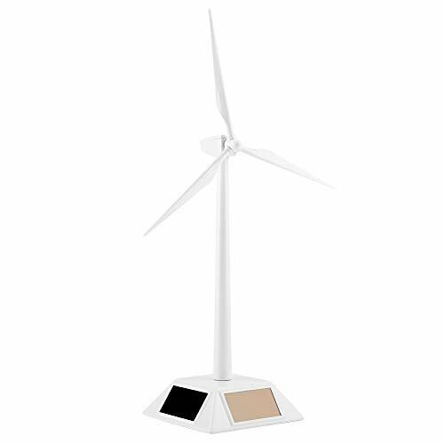 xuuyuu 太陽光 風力発電 風車モデル DIY 商店 組み立て 風車の置物 学習 装飾 最安値 自由研究 ソーラー風車 模型 実験
