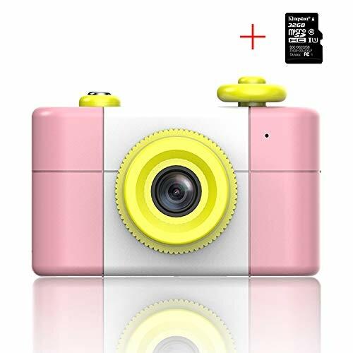 子供用カメラ U-LIGHT子供用デジタルカメラ ご注文で当日配送 高い素材 32G 日本語取扱説明書 ピンク SDカードHD1.5画面