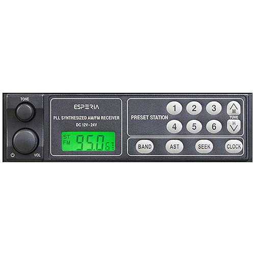 ESPERIA ブランド買うならブランドオフ 今季も再入荷 エスペリア AM FMモノラルチューナー:KRH-M69N