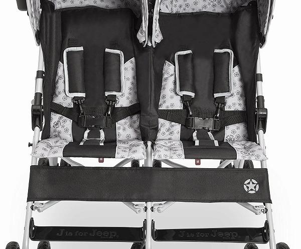 送料無料 ベビーカー 双子用 二人乗り ジープ スカウト ダブル ストローラー 海外直輸入hCrsBxtdQ