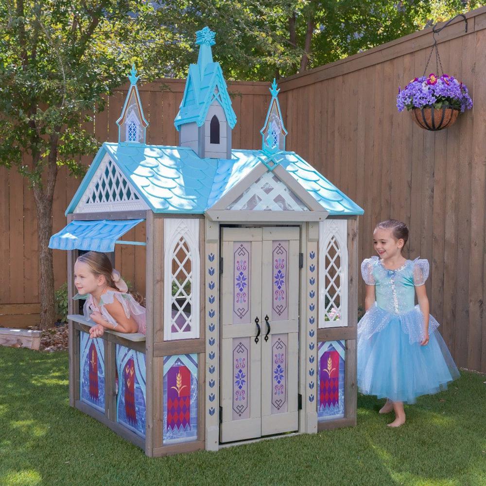 【送料無料】kidkraft キッズクラフト 大型遊具 お家 ディズニー Frozen 『アナと雪の女王』エルサ城 映画 ARENDELLE PLAYHOUSE 海外直輸入