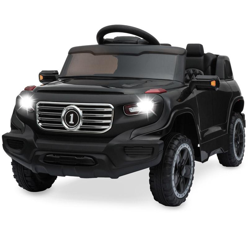 【送料無料】子供用 電動車 LEDヘッドライト、MP3プレイヤー、クラクションの機能付き!本格的電動車