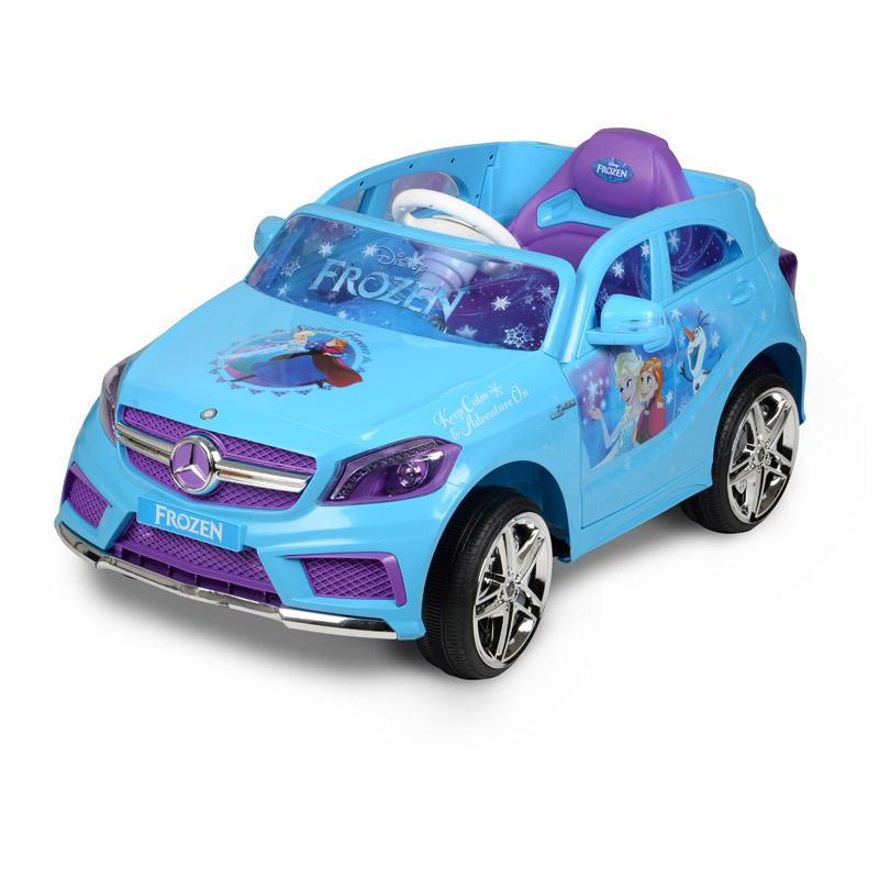 【送料無料】電動自動車 ディズニー Disney プリンセス ラプンツェル ベンツ仕様 アナと雪の女王 エルサ