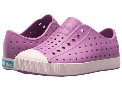 送料無料 Native Kids Shoes ネイティブ キッズ 子供用 キッズシューズ 子供靴 スニーカー 運動靴 Native Kids Shoes ネイティブ Jefferson (Little Kid/Big Kid) - Peace Purple/Milk Pink