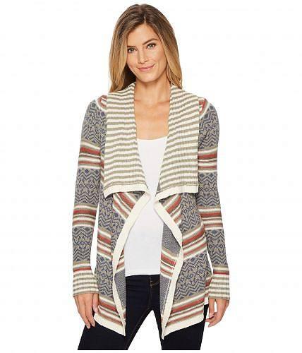 送料無料 Aventura Clothing アヴェンチュラクロージング レディース 女性用 ファッション セーター Aventura Clothing アヴェンチュラクロージング Bethel Cardi - Gravel